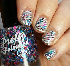 Pretty-&-Polished-Amazing-Technicolor-Top-Coat-zebra-stamping-nail-art