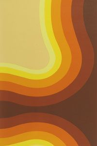 seventies orange brown wallpaper - Google Search