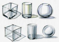 #marker #sketch #glass #productsketching #markersketch