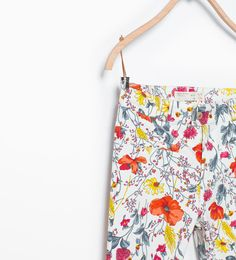 ZARA - KIDS - Floral print trousers