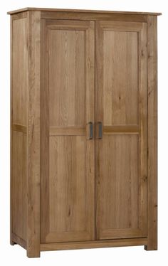 Elegant Highly Sprung Trade Vintage Oak Ladies Wardrobe vat