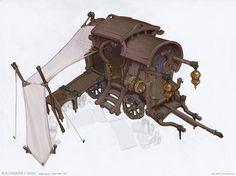 ArtStation - traders caravan, Max Schulz