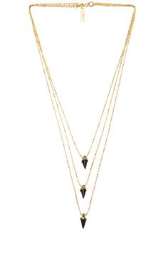 Lionette by Noa Sade|Avish Necklace in Black