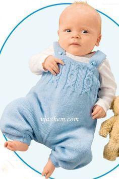 Жакет комбинезон и шапочка для грудничков Knitted Baby Clothes, Baby Born, Baby Knitting, Unisex, Pattern, Crafts, Decor, Fashion, Baby Things