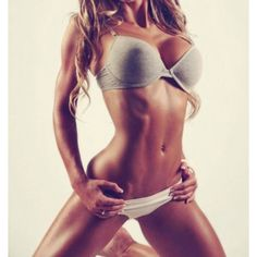 Flat abs. Yes, please