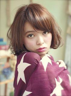 甘辛MIXウェービーボブ 【DECO】 http://beautynavi.woman.excite.co.jp/salon/25557?pint ≪ #bobhair #bobstyle #bobhairstyle #hairstyle・ボブ・ヘアスタイル・髪型・髪形 ≫