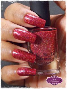 Esmaltadas da Paty Domingues: Cherry Luxe - ILNP                                                                                                                                                                                 Mais