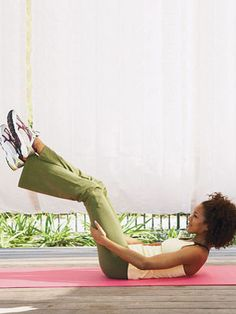 Ballet Workouts - Best Ballet Workout Moves for Abs - Woman's Day