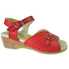 Women's 811 Red Leather