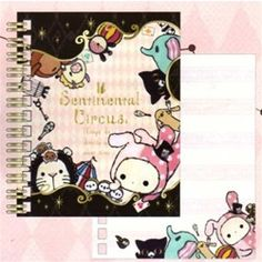 San-X Sentimental Circus Pocket Notebook: 2