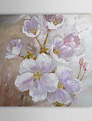 Hand geschilderd olieverfschilderij Bloemen 130... – EUR € 59.99