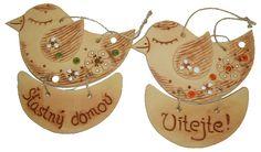 Vítejte ptáček - Originální dárky pro muže a ženy k narozeninám Christmas Ornaments, Holiday Decor, Birds, Christmas Jewelry, Christmas Decorations, Christmas Decor