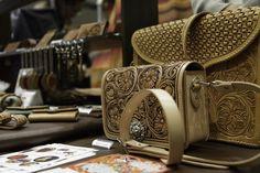 Beautiful leatherwork at Design Festa vol.40