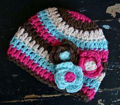 Baby+Girl's+Lollipop+Stripes+Hat+Handmade+Crochet+by+rubywebbs,+$27.00