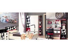 Dětský pokoj Formula 1 Nábytek do dětksého pokoje z kolekce Formula je skvělou volbou pro všechny rodiče, kteří mají doma malé závodníky. Příjemný design inspirovaný depem F1 promění každou chvilku strávenou v pokoji v radost. … Formula 1, Entryway, Furniture, Design, Home Decor, Entrance, Decoration Home, Room Decor, Mudroom