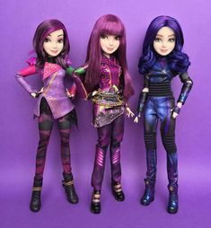 Disney Descendants Dolls, Disney Dolls, King Charles Puppy, Diy Projects For Men, Barbie Fashionista Dolls, Belle Beauty And The Beast, Disney Merchandise, Cute Cartoon Wallpapers, Dance Outfits