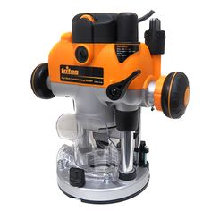 Triton M0F001 Plunge Router 2-1/4 HP $219.95 Woodworking Supplies, Woodworking Videos, Woodworking Shop, Jet Tools, Electronic Speed Control, Plunge Router, Safety Switch, Porter Cable, Wood Router