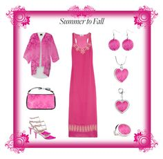 """Soft Pink Frost of Morning"": Summer to Fall by artist4god-rose-santuci-sofranko on Polyvore featuring polyvore, fashion, style and Alice by Temperley Please visit my website for info on purchasing my products and books. www.Artist4God.net Thank you & God bless!"