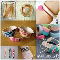 3 DIY Popsicle and Coffee Stirer Stick Bracelets. Popsicle Stick Bracelet from Craft Affection. *This is an excellent tutorial - learn from ...