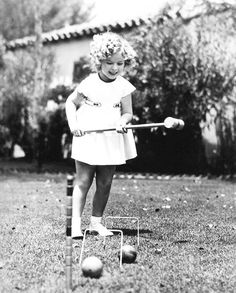 Shirley Temple, 1935.