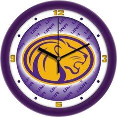 Mens North Alabama Lions - Dimension Wall Clock
