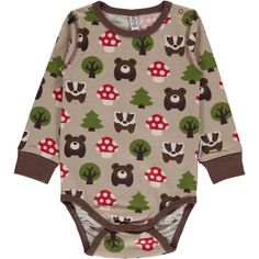 ee98db753 Forest Onesie. Organic BabyOrganic CottonScandinavian KidsKids ...