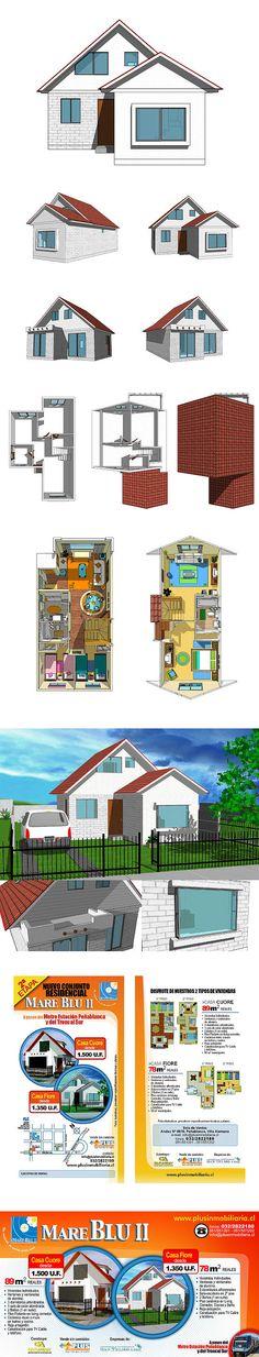 2007 / Mare Blu 2 on Behance #3D #design #sketchup #graphic http://www.bandago.cl/portfolios/mare-blu-ii/