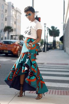 Here's Gorgeous Africa fashion African Dresses For Kids, African Fashion Skirts, African Print Fashion, Africa Fashion, Ankara Fashion, Tribal Fashion, African Print Skirt, African Print Dresses, African Prints