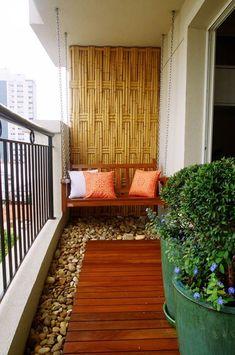 Balcony on Pinterest - Tiny Condo Patio
