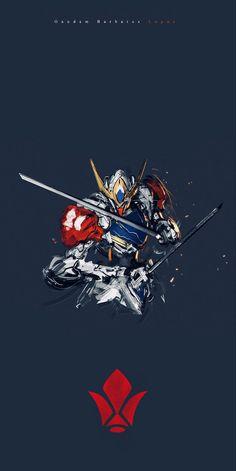 Barbatos Lupus, Gundam, Sci Fi, Science Fiction