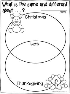 Here is a freebie! :) This is a simple Venn that students
