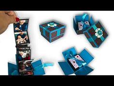 Návod na fotoleporelo v kostce balené - YouTube Usb Flash Drive, Diy And Crafts, Youtube, Usb Drive
