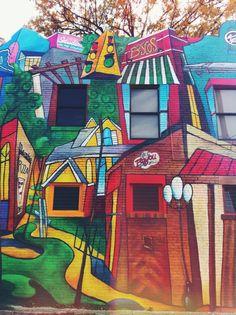 A #MidtownMemphis mural.