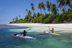 Easy does it: At only three-and-a-half miles round, Alphonse Island (pictured) is simple t...