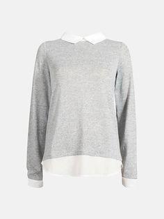 Grå - Spike sweater