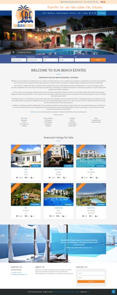Sun Beach Estates are a family-run boutique real estate agency that specialises in property for sale in Estepona and surrounding areas. Real Estate Software, Real Estate Agency, Portfolio Website, All Design, Property For Sale, Sun, Boutique, Building, Beach