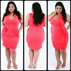 Leslie Peachy Dress