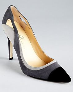 IVANKA TRUMP Pumps - Ganay Cap Toe Pointy | Bloomingdale's