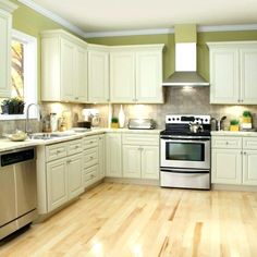Unique Findley and Myers Malibu White Cabinets