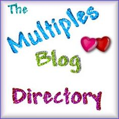 The Multiples Blog Directory on Pinterest! All blogs by Moms of Twins, Triplets, Quads, Quints, Sextuplets, etc.  (get yours added)