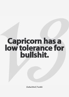 No Tolerance whatsoever