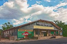 Woerner Warehouse Café + Catering is located in the iconic Woerner Feed Store in the heart of the abundant organic produce and wine region of the Texas Hill Country. Texas Restaurant, Glen Rose, Breakfast Cafe, Pecan Wood, Tomato Relish, Homemade Pastries, Pine Island, Texas Travel, Texas