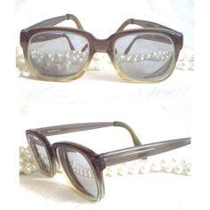 2a87c711e13 Items similar to RODENSTOCK vintage 60s Slate Unisex Eyeglasses Chunky Horn  rim Rectangular Germany Geek Chic Nerd Smoke Grey Glasses Prop Art retro  mod on ...