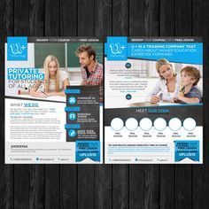 Creat a capturing flyer design for a Tutoring business by sangyogita123