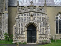 The south porch, Church of St Mary, Kersey, Suffolk, England | Flickr - Photo Sharing!