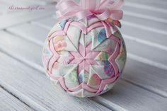 Easter Egg Hunt Ornament | Easter Ornament | Handmade with Longaberger Fabric