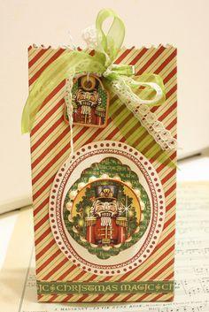 Nutcracker Sweet Gift Bag Tutorial