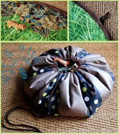 Tapis De Jeu Transformable En Sac : tapis d 39 veil on pinterest bags ~ Nature-et-papiers.com Idées de Décoration