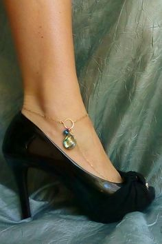 Barefoot Sandal   Abalone with Teal and by beadifulexpressions, $35.00