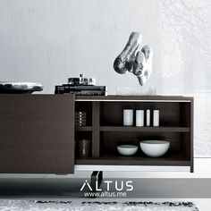 Square sideboard, designed by Mauro Lipparini for MisuraEmme, made in Italy. Oak Sideboard, Good Company, Dining Room Furniture, Door Design, Sliding Doors, Office Desk, Luxury Furniture, Furniture Design, Buffet